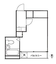 クレッセントSI-4[2階]の間取り