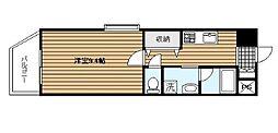 横浜元町ガーデン16[2階]の間取り