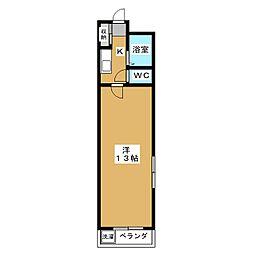 acuerdo仁王門[3階]の間取り