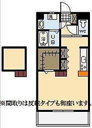 (新築)下北方町常盤元マンション[203号室]の間取り