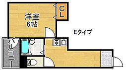 ラシーヌ21[3階]の間取り