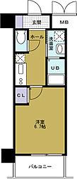 アドバンス大阪ベイストリート[2階]の間取り