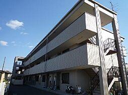 愛知県一宮市西大海道字新田前の賃貸マンションの外観