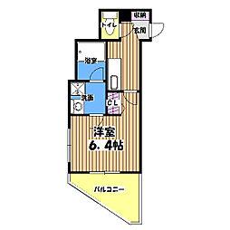 COMODO PALAZZO Grande Tachikawa[8階]の間取り