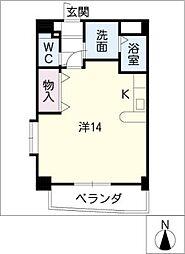 yarakuIII[5階]の間取り