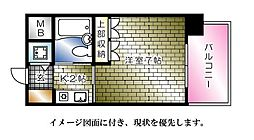Lion竹屋町(リオン竹屋町)[204号室]の間取り