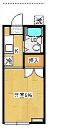 田所コーポ[A101号室号室]の間取り