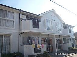 大阪府東大阪市菱江1丁目の賃貸アパートの外観