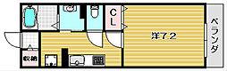 ハイツ東大手[2階]の間取り