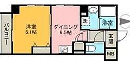 エムエー大口マンション[5階]の間取り