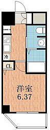 グランパシフィック聖天坂[5階]の間取り