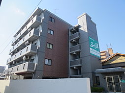 広島県東広島市西条朝日町の賃貸マンションの外観