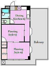 ラフォーレSHINOMIYA[3階]の間取り