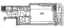 シルフィード衣笠[205号室]の間取り