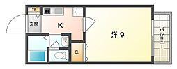 コフレ24[2階]の間取り