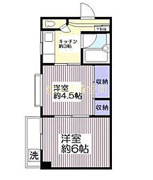 マコト第2ビル[5階]の間取り