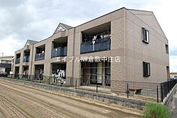 岡山県倉敷市上富井の賃貸マンションの外観