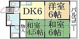 ニュー太田[2階]の間取り