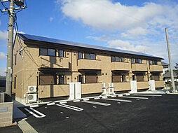 愛知県安城市西別所町本郷の賃貸アパートの外観