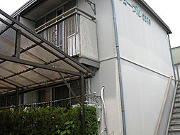 愛知県名古屋市名東区極楽2丁目の賃貸アパートの外観