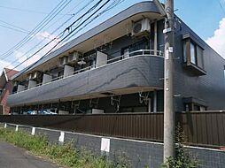 東京都調布市菊野台1の賃貸マンションの外観