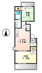 メゾンルヴール[3階]の間取り