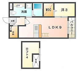エミネンスムラカワII[2階]の間取り
