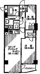 モアグランデ浜松町[4階]の間取り