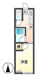 ハイツ泰成[2階]の間取り