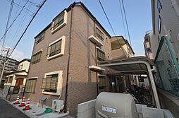 兵庫県西宮市六軒町の賃貸マンションの外観