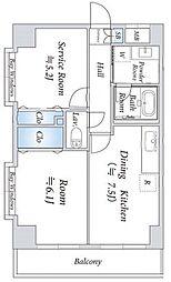 インシュランスビル3[305号室号室]の間取り