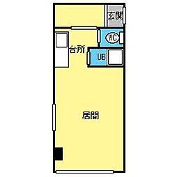 島田ビル[3階]の間取り