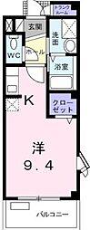 ルビー・ピア[2階号室]の間取り