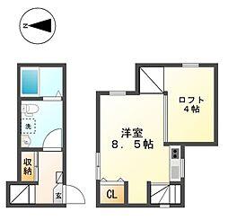 エルヴィータ(Elvita)[2階]の間取り