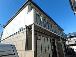 埼玉県上尾市緑丘5丁目の賃貸アパートの外観