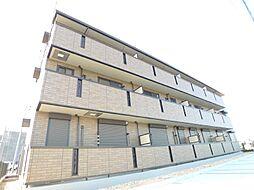 千葉県流山市東初石5丁目の賃貸アパートの外観
