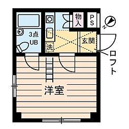 イリス三田[0204号室]の間取り