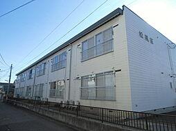 新潟県新潟市東区粟山2丁目の賃貸アパートの外観