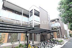 東京都葛飾区柴又5丁目の賃貸アパートの外観