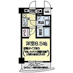 セレニテ甲子園II[0207号室]の間取り