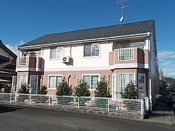 岐阜県岐阜市太郎丸中島の賃貸アパートの外観