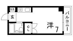 シティハイツ二宮[1階]の間取り
