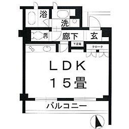 パークホームズ覚王山 EAST[1階]の間取り