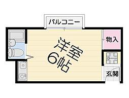 大阪府堺市堺区中田出井町1丁の賃貸マンションの間取り