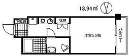 サンフォーレ岡本[1階]の間取り