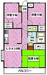 高西ビル[2階]の間取り