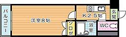 アリビオ八幡[12階]の間取り