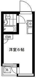 東京都豊島区南池袋1丁目の賃貸マンションの間取り