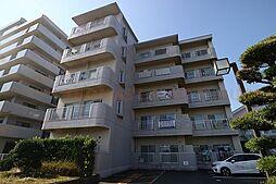 福岡県小郡市稲吉の賃貸マンションの外観