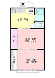 イナハウス[1階]の間取り